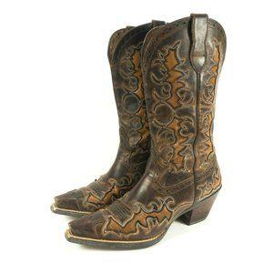 Ariat Dandy Sassy Snip Toe Western Cowboy Boots